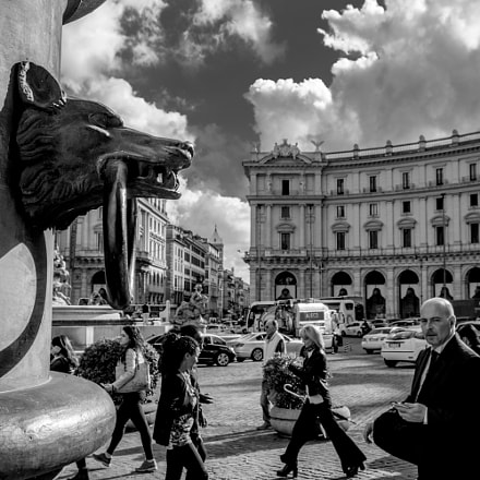 Somewhere in Rome, Nikon D7100, Sigma 17-70mm F2.8-4 DC Macro OS HSM Contemporary