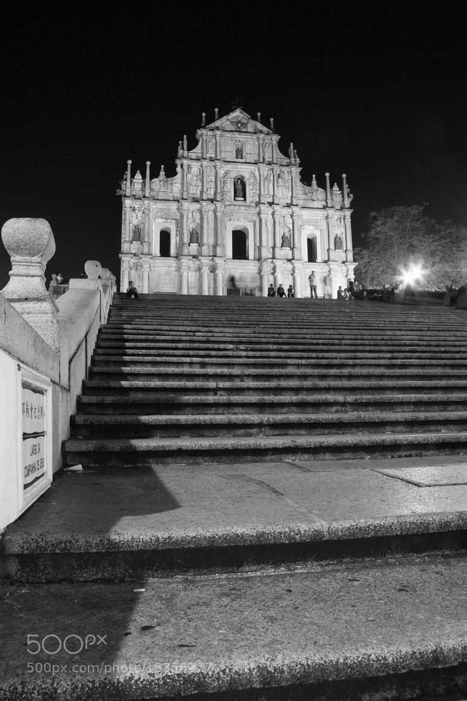 Photograph St.Paul's in Macau by Mattia Oselladore on 500px
