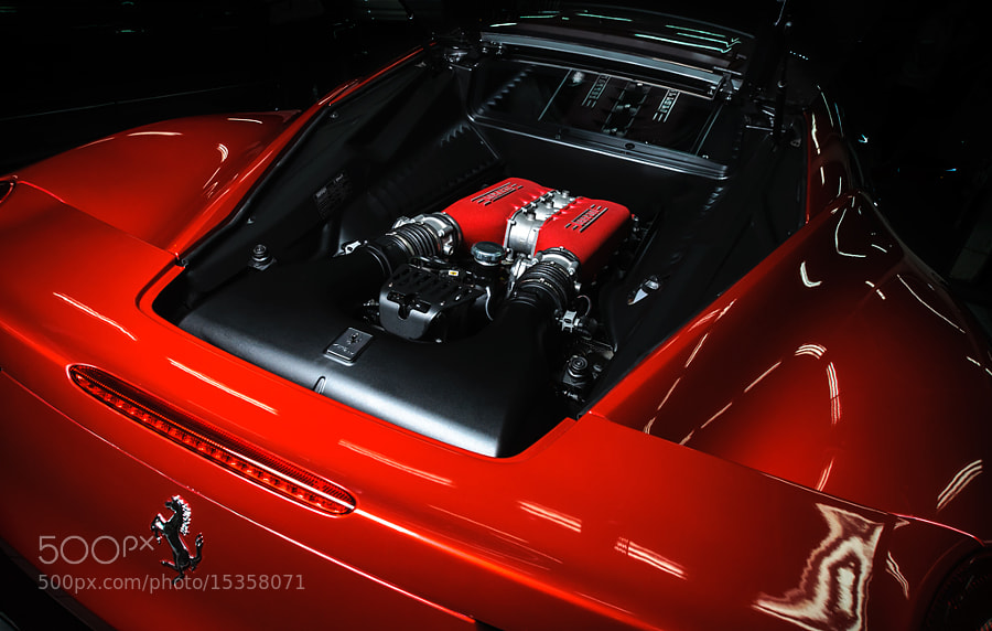 Photograph Engine bay by Kunks Whitelight on 500px