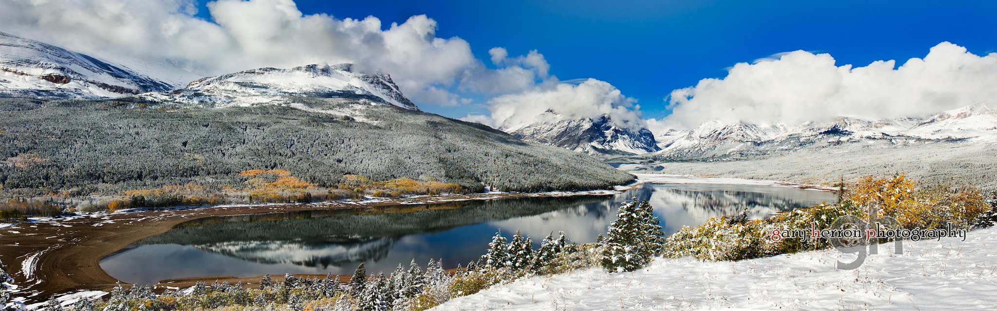 Photograph First Snow Panoramic by Gary Herron on 500px