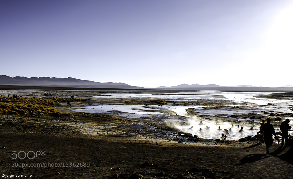 Photograph Termas de salar by Jorge Sarmento on 500px