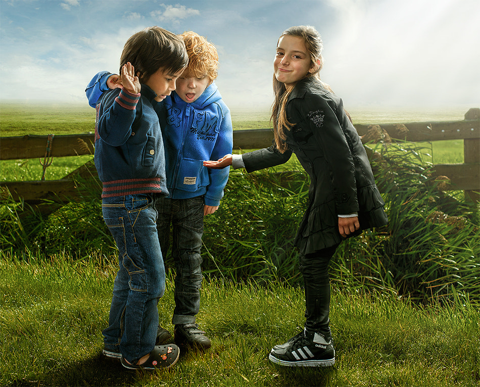 Photograph boy tssssss (color) by Adrian Sommeling on 500px
