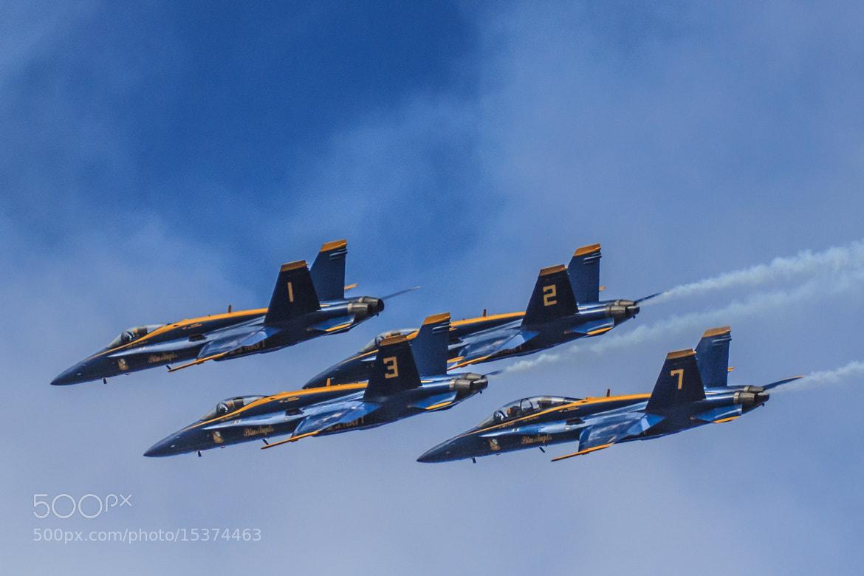 Photograph Blue Angels @ Fleet Week 2012 by Doug Kellogg on 500px