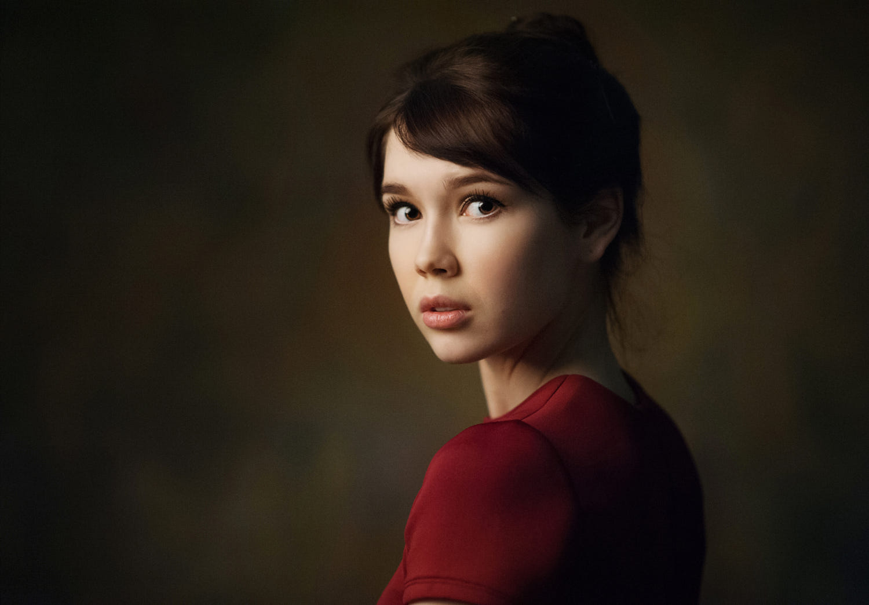 Portrait - model: Jana makeup: Natalia Ignatenko photo