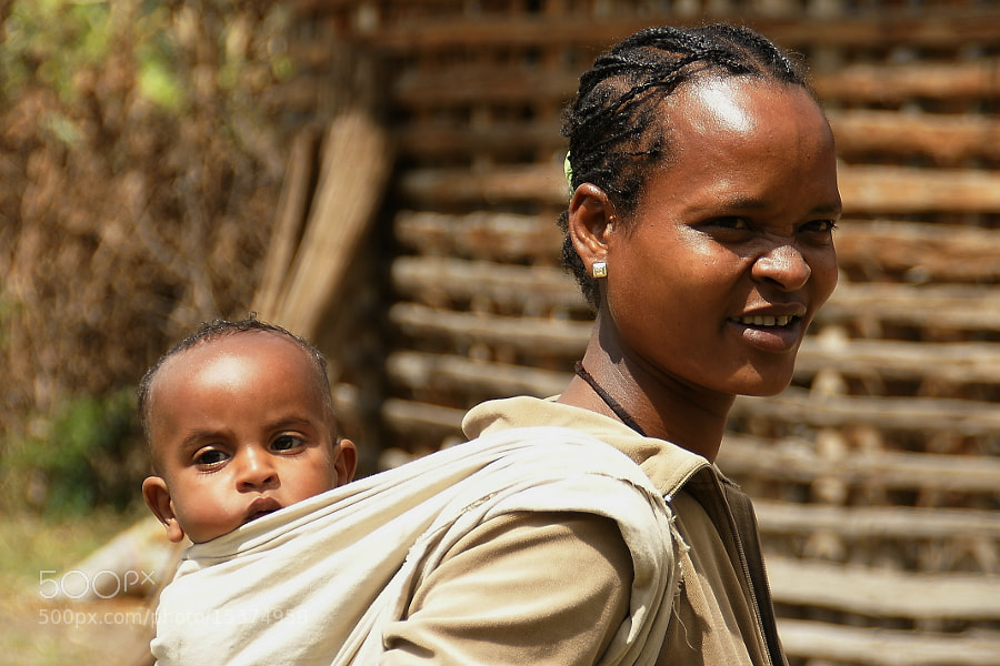 Photograph Ethiopian mother and child by Branko Frelih on 500px
