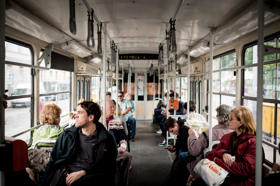 on the tram by Gabor Nagy on 500px.com