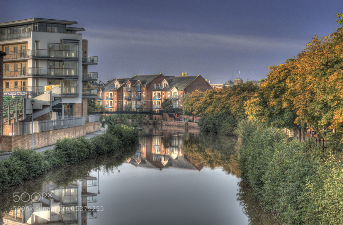 Photograph The River Tone in Taunton by Lord Parker on 500px