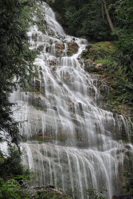 Photograph Bridal Veil Falls by Eva Lechner on 500px