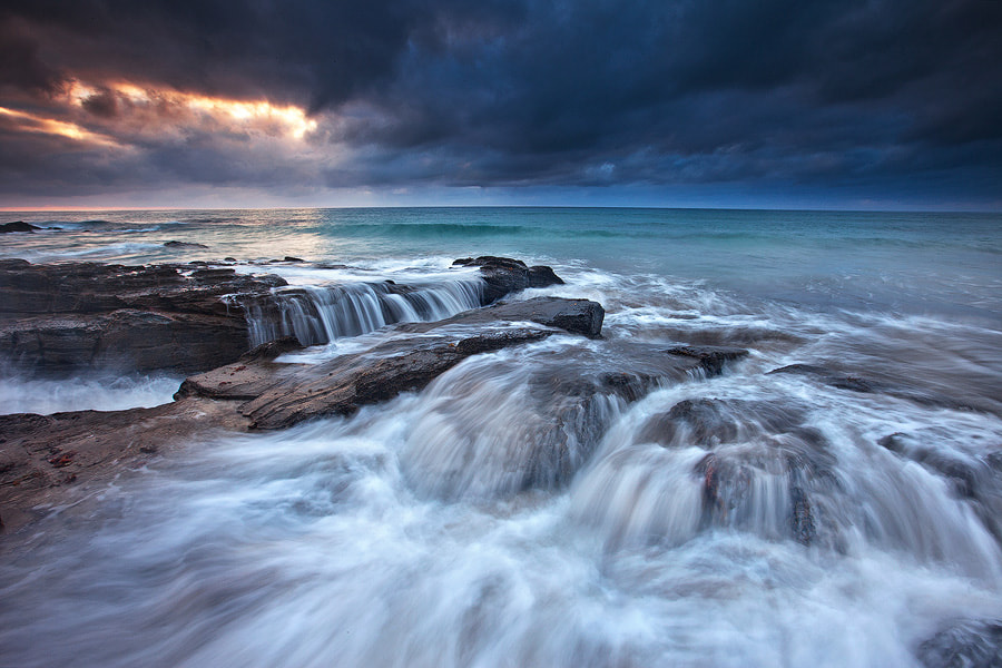 Photograph Ocean Deep by Darren J Bennett on 500px