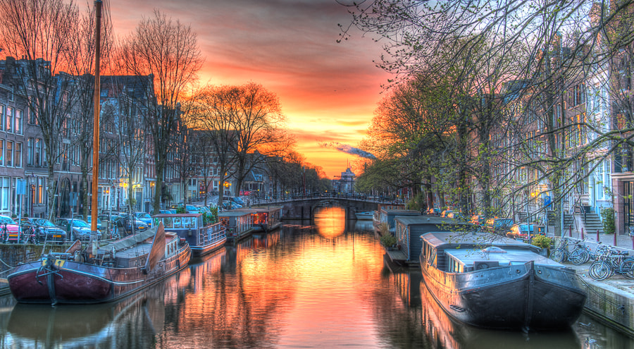 Photograph Houseboats, Jordaan District  by Anisa Tanaka on 500px