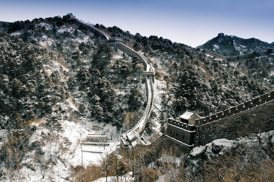 Photograph Winter on the Great wall  by rey espinueva on 500px