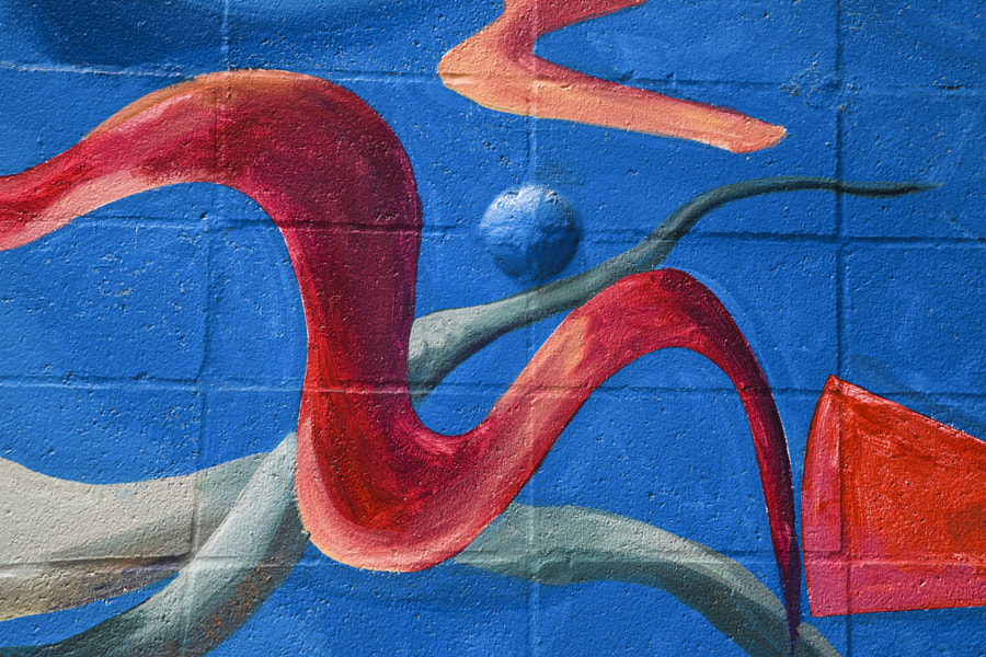 San Francisco Mural Detail 1