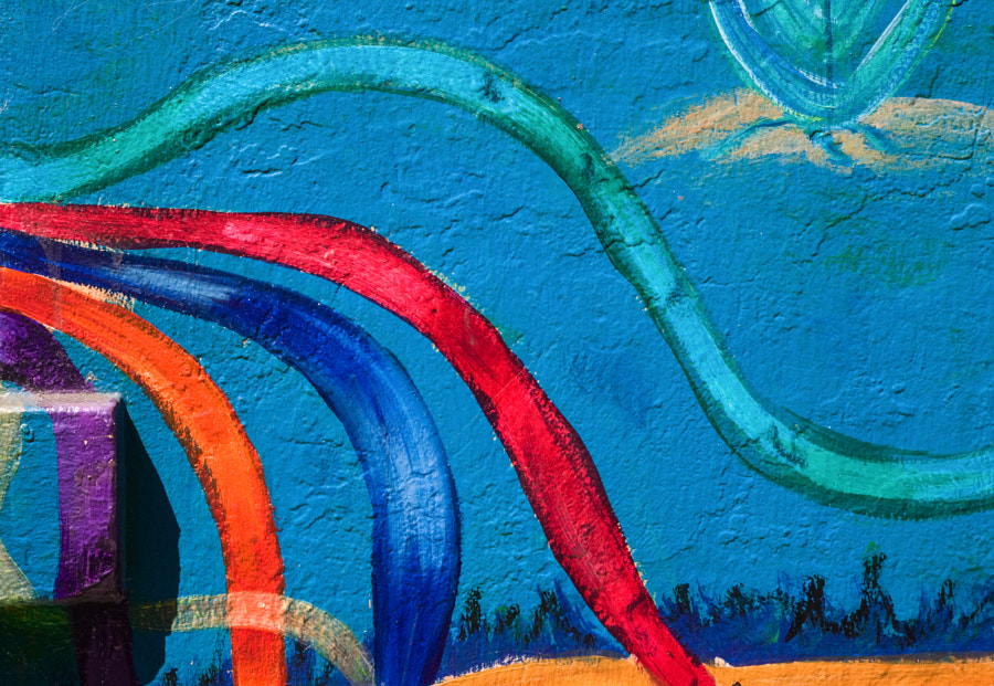 San Francisco Mural Detail 2