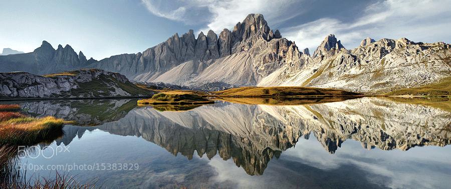 Dolomites - Mirrorlake II by Kilian Schönberger on 500px.com