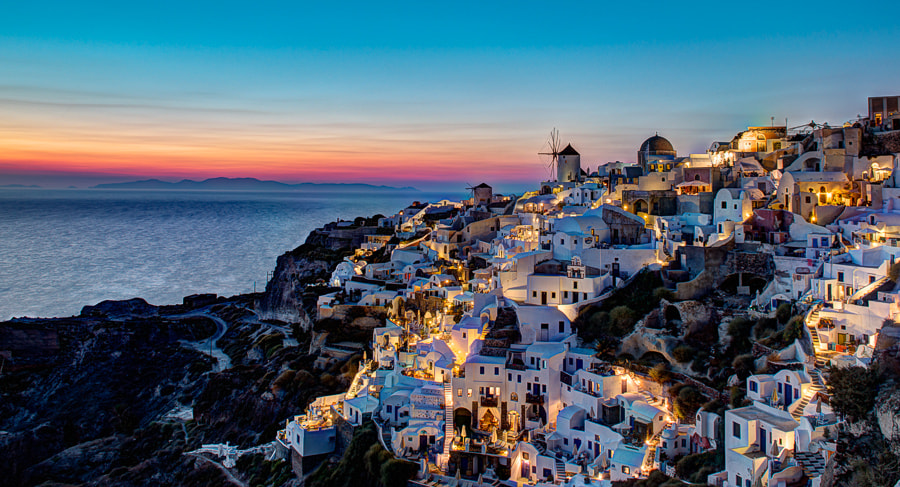 Photograph Oia sunset by Michael Mammen on 500px