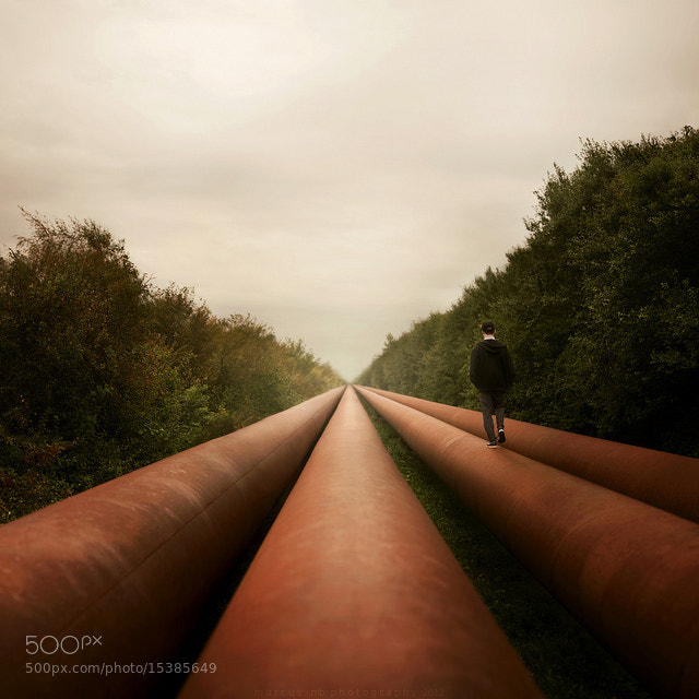 Photograph roads by Marcus  Møller Bitsch on 500px
