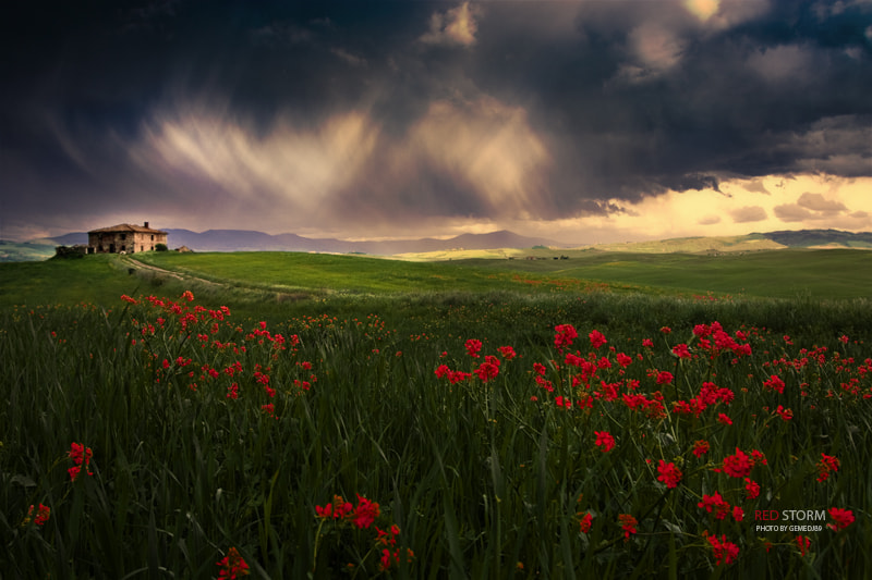 Photograph Red Storm second version by Michele Genito on 500px