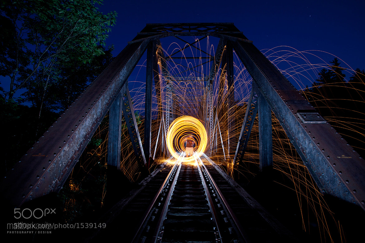 Photograph Fun with steel wool 2 by Matt Berkowitz on 500px