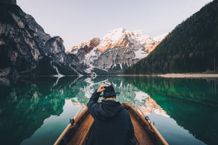 First one on the lake! by 500px on 500px