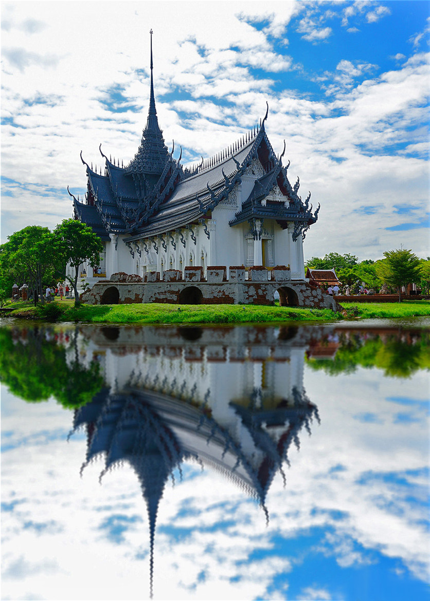 Photograph Sanphet Prasat Palace at Ancient Museum in Samutprakran, Thailand by Roof LovelyAim on 500px