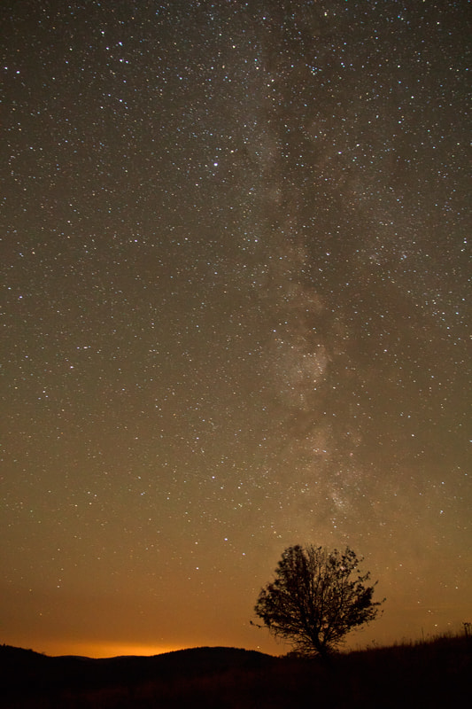 Photograph The Milky Way is over. by Péter Bognár on 500px