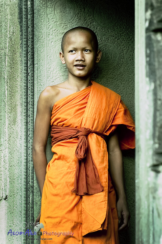 Photograph little monk 2 by azam alwi on 500px