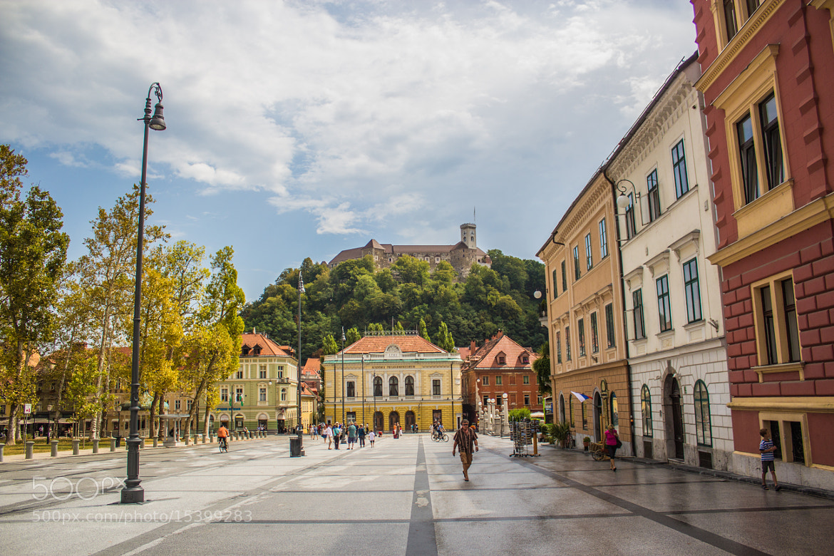 Photograph The city of Ljubljana with its castle by Michael Wagner on 500px