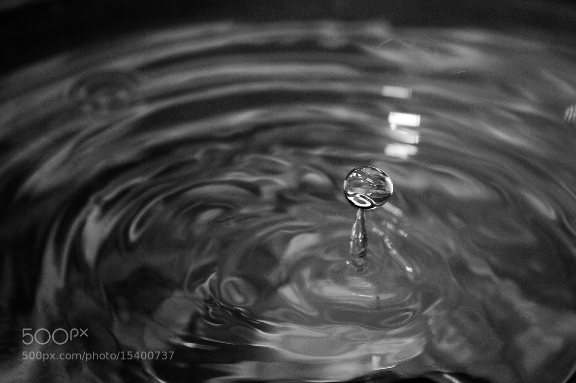 Photograph waterdrop by Michael Wagner on 500px