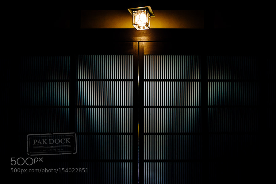 Door at night - Takayama