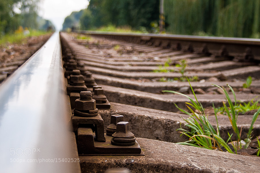 Photograph rails by Soňa Kovalčíková on 500px
