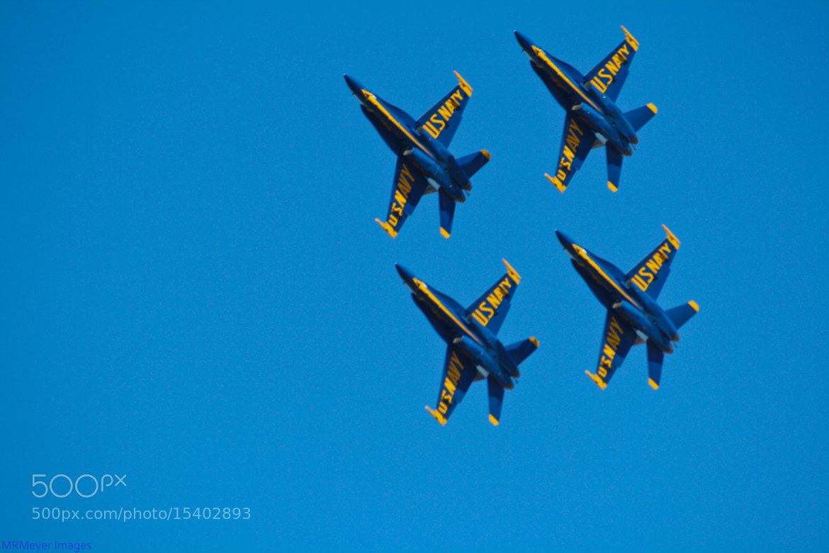 Photograph Blue Angels by Mark Meyer on 500px