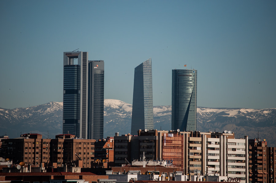 Madrid Buildings by Gustavo  Aragundi on 500px.com