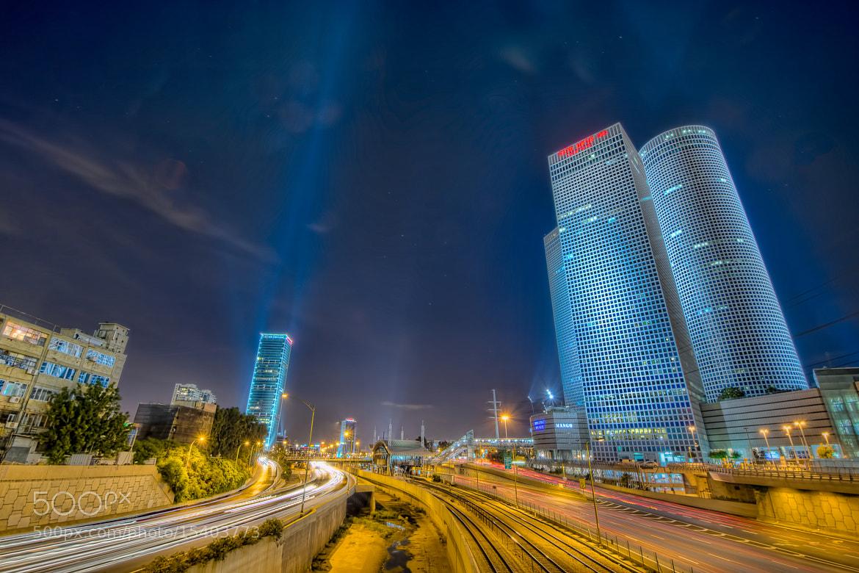 Photograph Tel Aviv Nights by Simon Gelfand on 500px