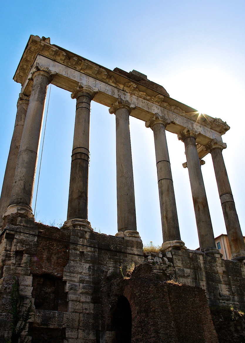 Photograph Roman forum - Saturn Temple by Flavia Leite on 500px