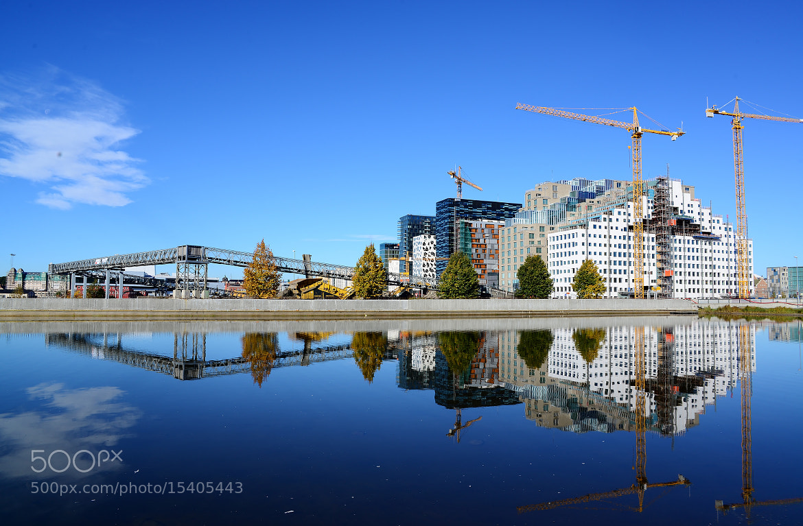 Photograph Bjørvika is rising by Per Hagen on 500px