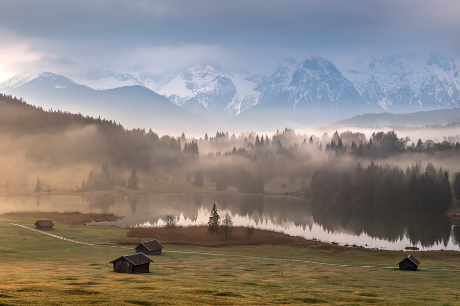 Bavarian mornings by Lazar Ovidiu on 500px.com