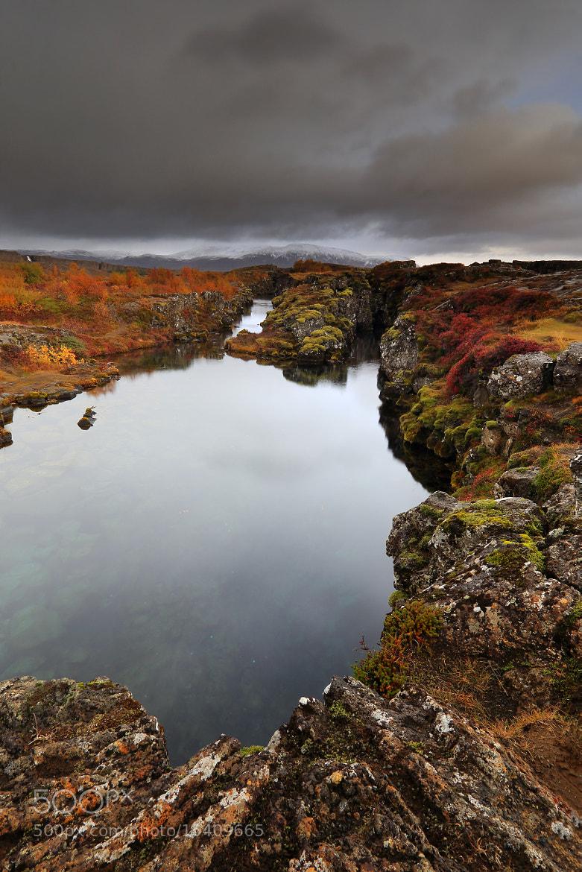 Photograph Thingvellir in autumn colors by Jon Hilmarsson on 500px