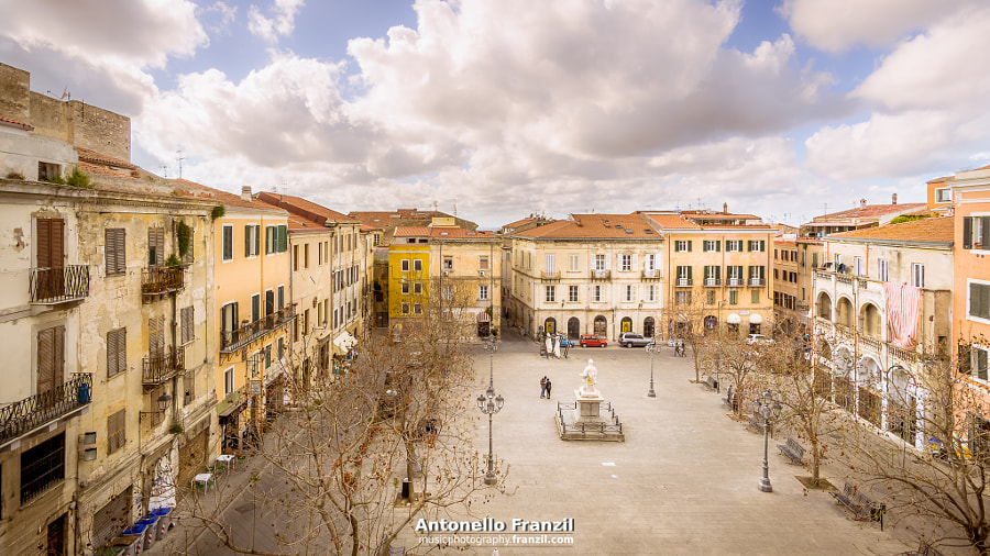 Sassari - Piazza Tola by Antonello Franzil on 500px.com