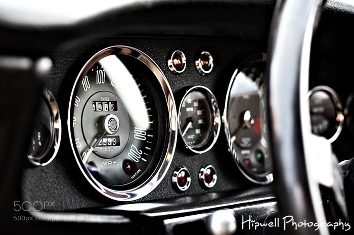 Photograph Aston Martin DBS V8 Dash by Hipwell Photography on 500px