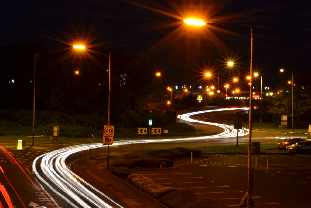 Photograph Light Trails by Mike Campbell on 500px
