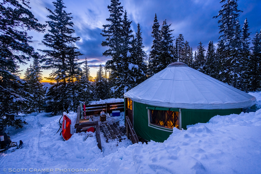 Hidden Treasure Yurts Colorado by Scott Cramer Photography - Adventure Photo on 500px.com