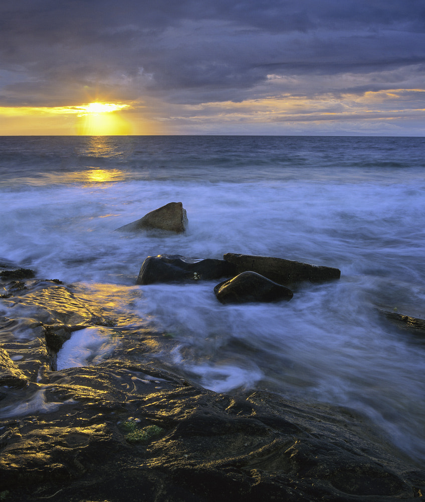 Photograph Surf Gold Hopeman by Ian Cameron on 500px