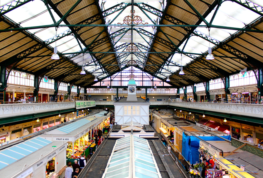 Cardiff City Market by Richard Mylan on 500px.com