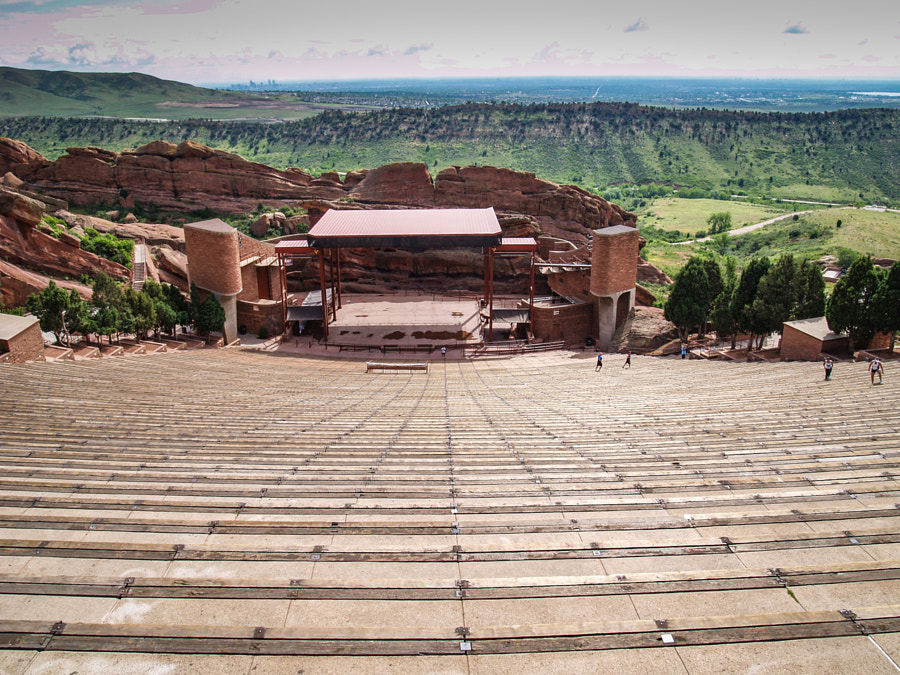 Red Rocks Amphitheatre by John Poltrack on 500px.com