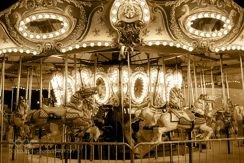 Photograph Carrousel by Annie Pronovost on 500px