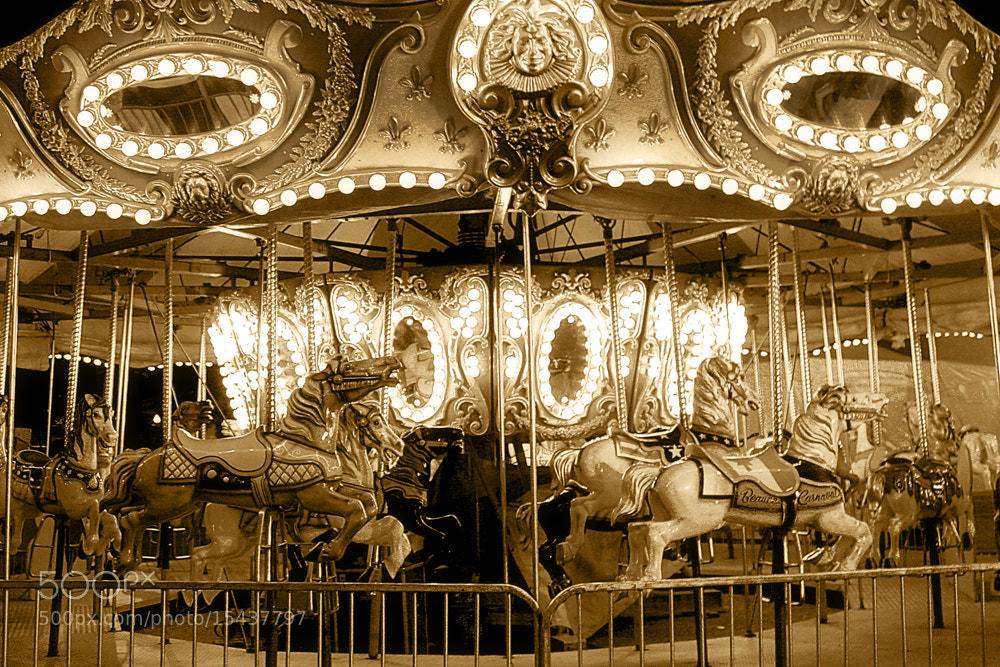 Photograph Carrousel by Annie Pronovost on 500px