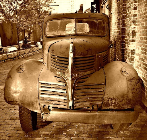 Photograph 0128 Old Dodge Truck by Matthias F on 500px