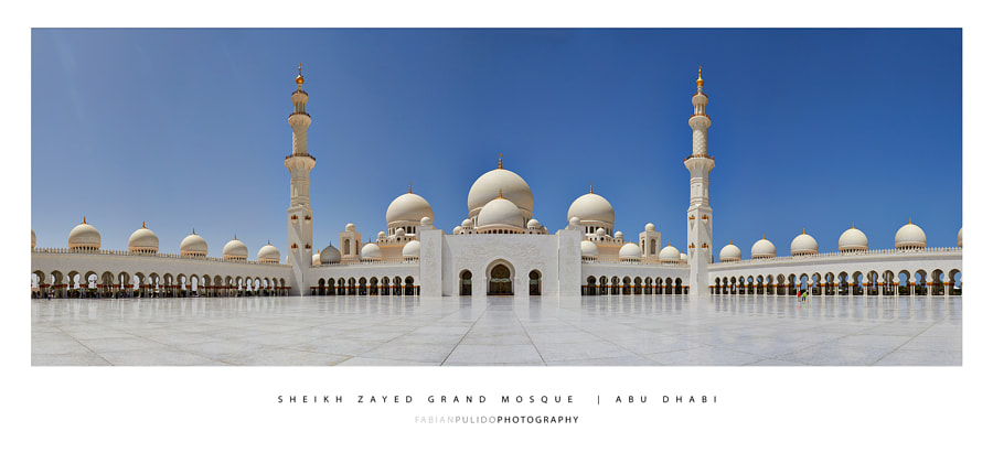 Sheikh Zayed Grand Mosque by fabianpulido.com by Fabian Pulido Pardo on 500px.com