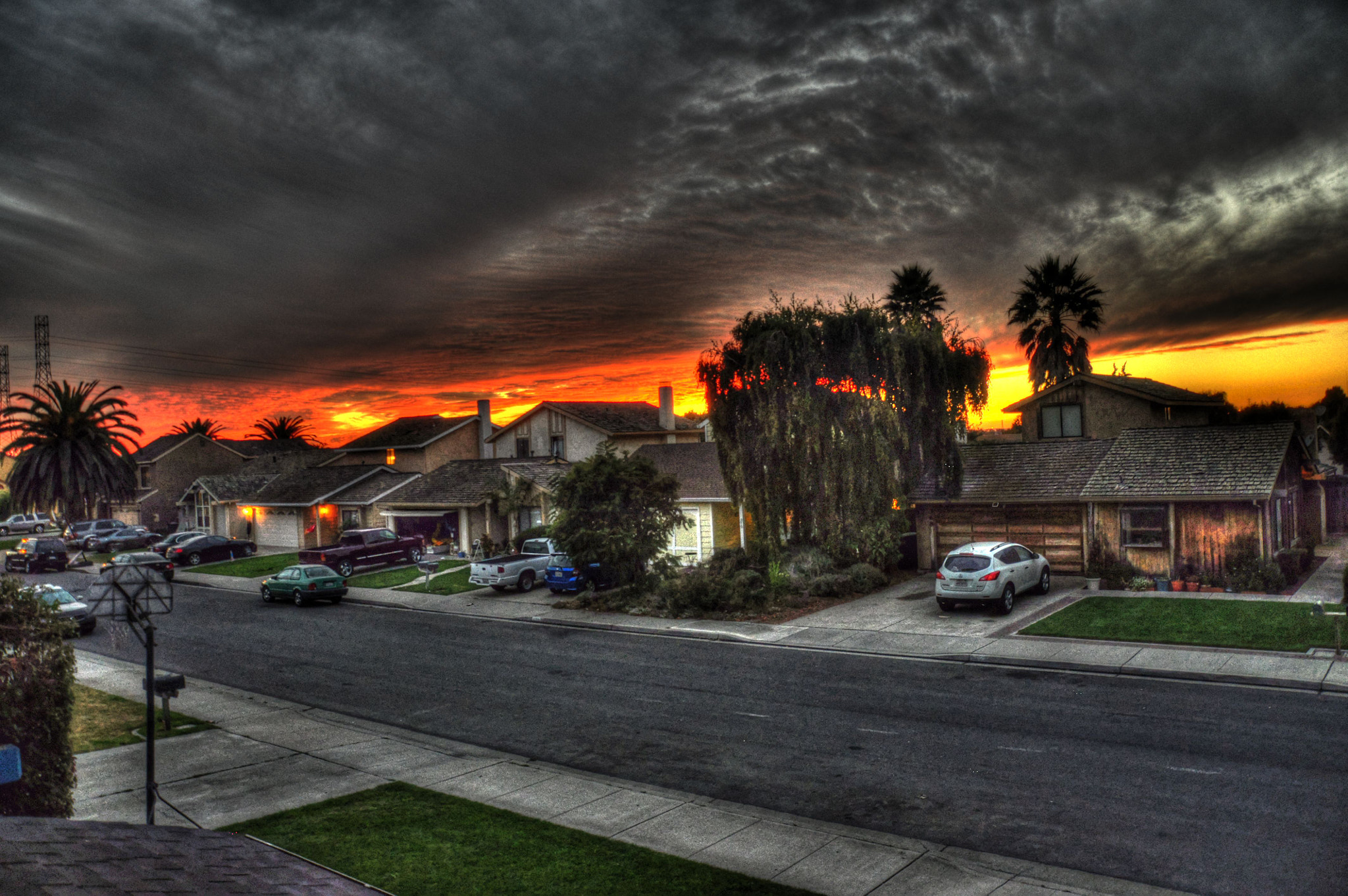 Photograph Bush st sunset HDR by Daniel Hulter on 500px