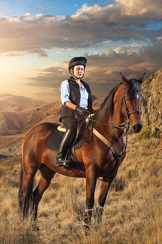 Photograph Horseback at Sunrise by Braxton Wilhelmsen on 500px